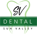 An image of a SV Dental Sunvalley logo.